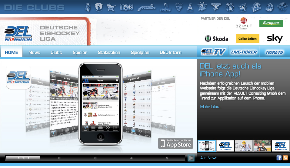 iPhone-App wichtiger als die Lage im Eishockey-Oberhaus!