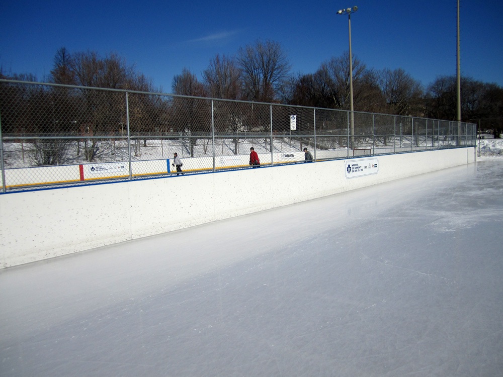 Ramsden Ice Rink in Toronto