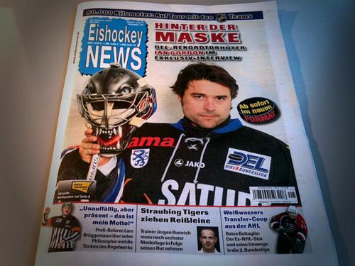 Seit dieser Woche mit neuem Format: Die Eishockey-News.