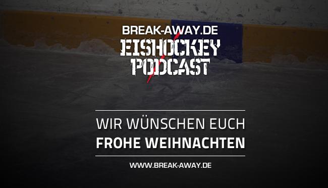 Der deutsche Eishockey-Podcast wünscht frohe Weihnachten!